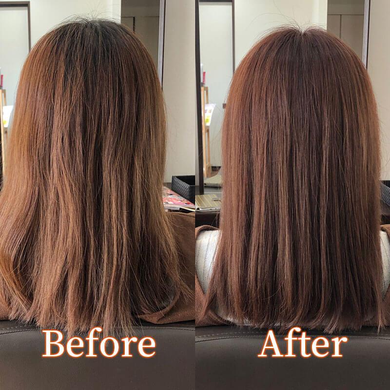 津市の美容院サロンドウルー 毛量の多い方・髪が太い方におすすめのショートボブスタイル